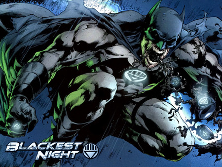 Blackest Night - Batmanrise - black, batmanrise, anger, might, night