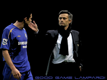 Good game Lampard  - frank, good, jose, lampard, game, franky, mourinho