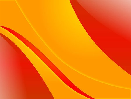 Red and yellow waves - Textures & Abstract Background ...