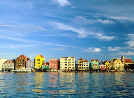 Curacao View, Caribbean Island - Oceans & Nature Background