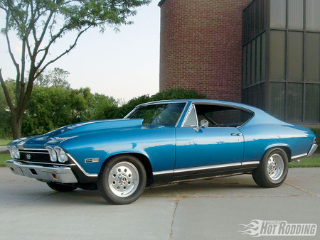 Chevy Chevelle - gm, blue