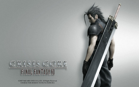 Crisis Core - Final Fantasy VII - action, fighter, video game, game, man, final fantasy vii, adventure, hair, warrior, hero, sword