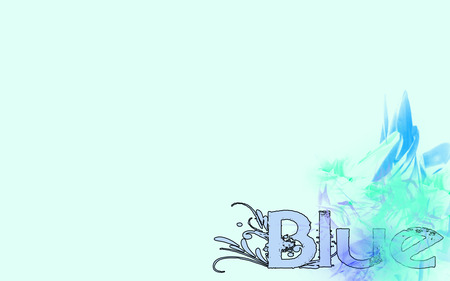 Blue - me, cool, blue, font, no, made, by, cars, other, aweome
