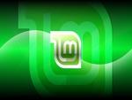 Linux Mint Dark Aqua Wallpaper HD