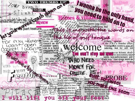 Love Me Hate Me Collages Abstract Background Wallpapers On