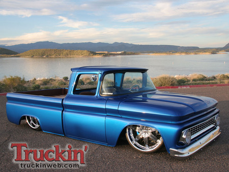 1963 Chevy C10 Lowrider Chevrolet Cars Background Wallpapers On