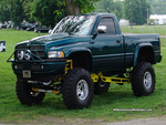 Jacked Up Dodge Ram 4x4