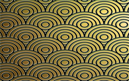 Positive Light - pattern, concentric circles, circles, design, textures, tranquil, concentric, calm, sand, lines, colours