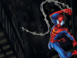Spidey in action