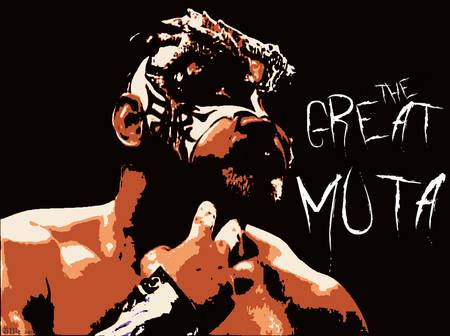MUTA - mutoh, wrestling, new japan, great muta, muta, puro, all japan, wcw, japan, keiji muto, nwa
