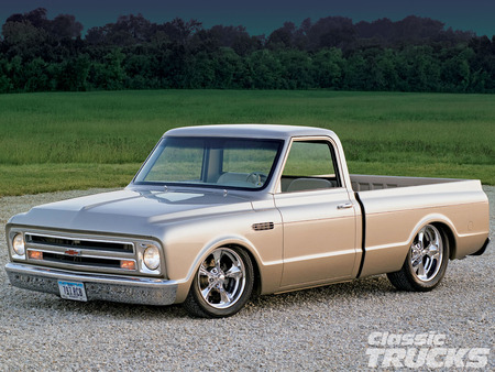 68 C10 Chevrolet Cars Background Wallpapers On Desktop Nexus