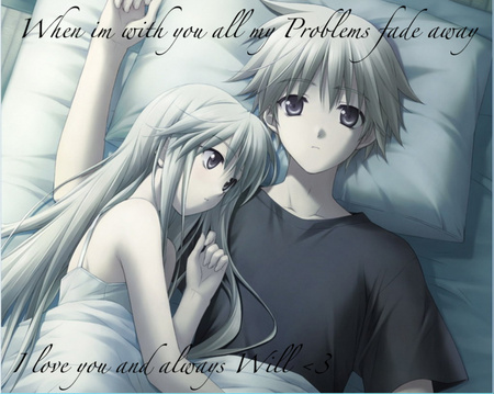 Cute Anime Couple Other Video Games Background Wallpapers On Desktop Nexus Image 356945