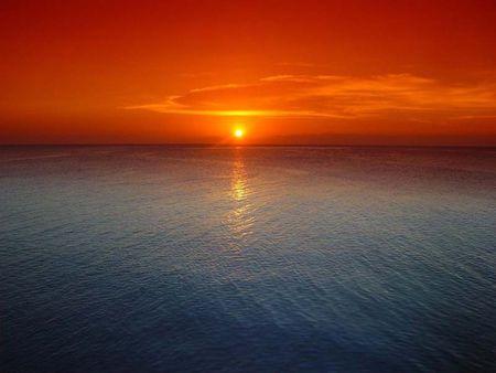 amestec de culori - mare, apus, soare, frumusete