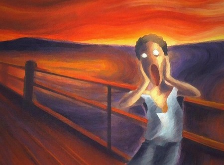 The Scream Excel Saga Anime Background Wallpapers On