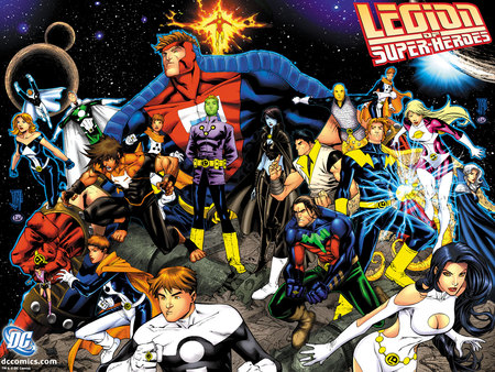 Legion of Super-Heroes - legion of super heroes, comics