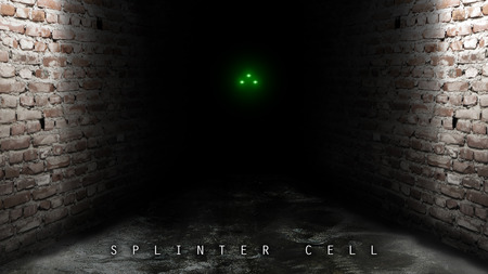 Tom Clancy's Splinter Cell - splinter cell, sam fisher, tom clancy, night vision, playstation, grunge, xbox, vision, stealth, night
