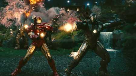 Iron Man & War Machine - iron man, movie, warmachine