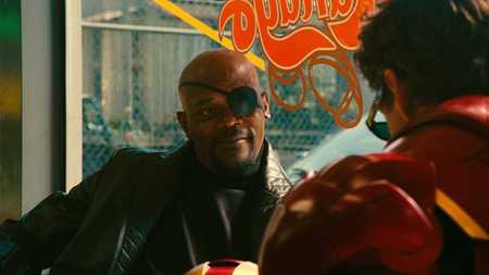 Nick Fury - iron man, movies, nick fury