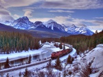 visit Canada by train