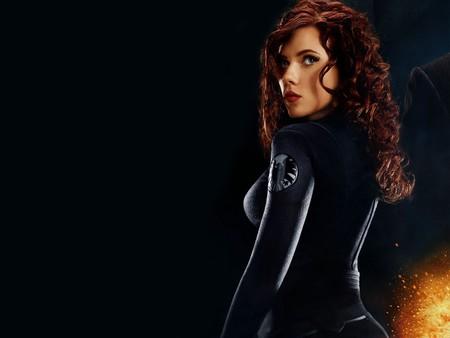 Black Widow - Scarlett Johansson - iron man, movie, female, actress