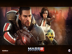 Mass Effect 2 - Cover Wallpaper (Widescreen)