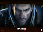 "Mass Effect 2 - ""Shepard"" Cinematic Wallpaper (Widescreen)"