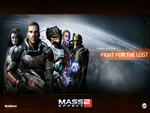 "Mass Effect 2 - ""Fight for the lost"" Wallpaper (Widescreen)"