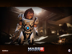 "Mass Effect 2 - ""Grunt"" Wallpaper (Widescreen)"