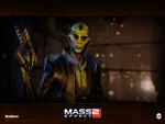 "Mass Effect 2 - ""Thane"" Wallpaper (Widescreen)"