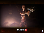 "Mass Effect 2 - ""Subject Zero"" Wallpaper (Widescreen)"