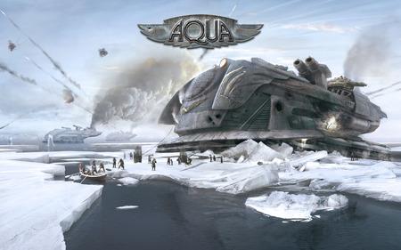 Aqua - xbla, aqua, warfare, steampunk, naval, stylish, shooter, action