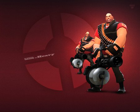 Team Fortress 2 Heavy Team Fortress Video Games Background