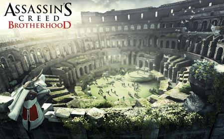 Assassins Creed: Brotherhood - 1st Wallpaper (Widescreen) - assassins creed 2, brotherhood, ac2, ubisoft, assassins creed