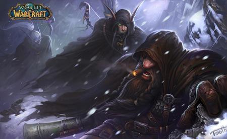 World Of Warcraft Climbing Fan Art By Tooth Widescreen