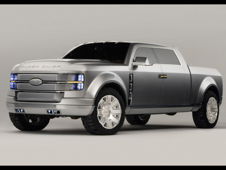 Ford F-250 Super Chief Concept - concept, super chief, f-250, pick up, ford, car