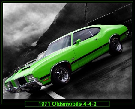 71 442 - car, olds, 442