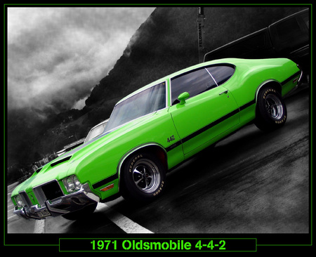 71 442 - 442, olds, car
