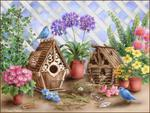 bird house scenery hut