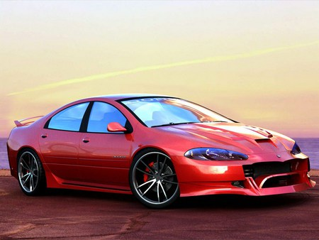 Intrepid - car, dodge, tuning, intrepid, digiart