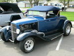 1930 ford roadster with 32 grill