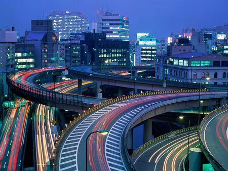 Japan - Tokyo at Night - tokyo, tokyo at night, japan