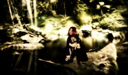 Ayla N secondlife - avatars, fantasy, wallpaper, secondlife, nature, backgrounds