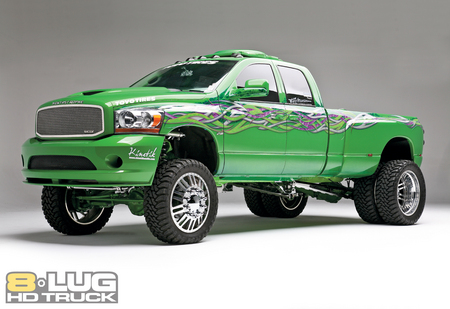 the hulk  3500 - hulk, 3500, car, dodge, ram