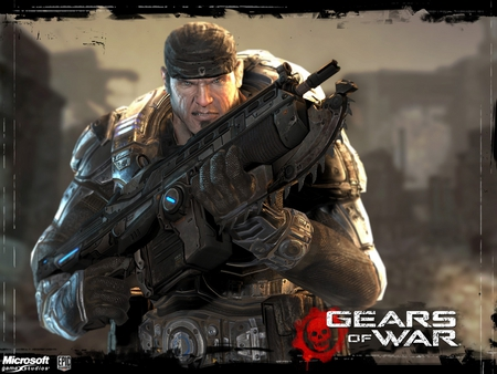 Gears of War - gears of war, gow, cog