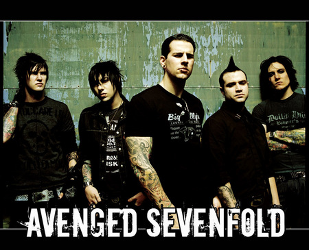 Avenged Sevenfold - sevenfold, avenged, bands, band, avenged sevenfold