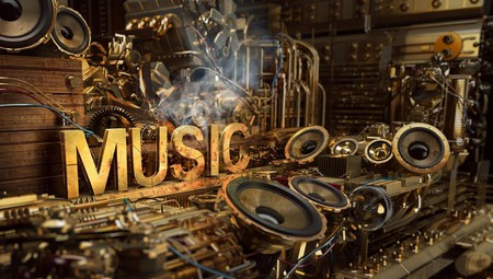 music Art  - club, instrument, headphone, music art