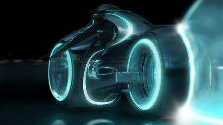 Tron - movie, tron