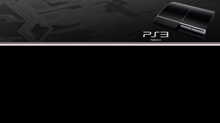 PlayStation 3 blackboard - ps3, playstation, sony, console, play