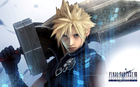 final fantasy - cloud strife, advent children, final fantasy, sword