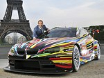 BMW M3 GT2 Jeff Koons Art Car '2010